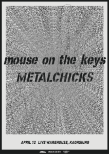 METALCHICKS, mouse on the keys